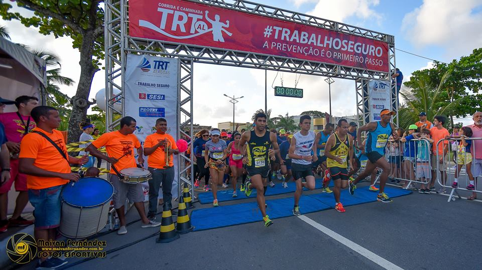 Video corrida do TRT/AL 2015